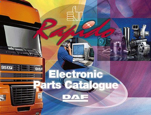 DAF Rapido 2019 Parts Catalogue