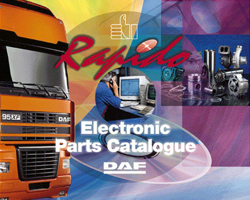Daf Rapido 2015 Electronic Parts Catalogue