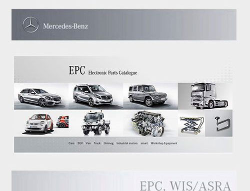 Mercedes EWA 2019 Parts Catalogue