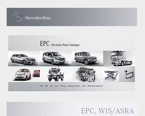 Mercedes Benz EWA WIS 2017 Electronic Parts Catalogue EPC World
