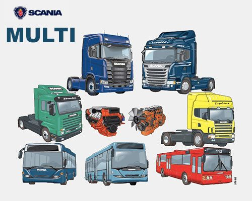 Scania Multi 2018 Electronic Parts Catalogue EPC World