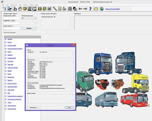 Scania Multi 2018 Electronic Parts Catalogue EPC World